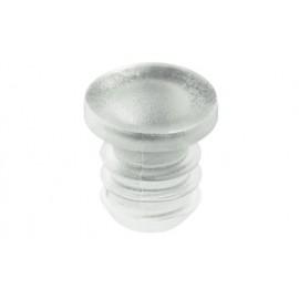 Стопорний амортизатор д/отв.D6 мм, пластмасса, прозр