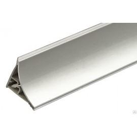 Плінтус для стільниці Алюміній овальний 30*30мм L=4м