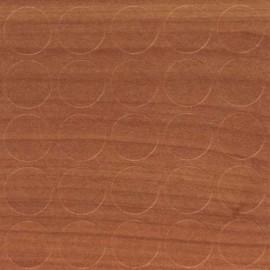 Заглушка самоклеюча на конфірмат Вишня Оксворд 14мм